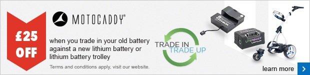 Motocaddy Battery Trade In